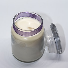 Bell Bottom Candle Massuet Lavender