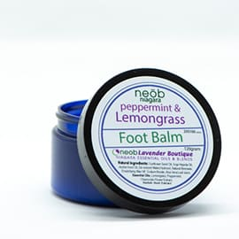 Lemongrass Peppermint Foot Balm