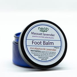 Massuet lavender and eucalyptus foot balm