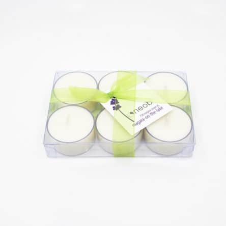 Tealight Lemongrass 6pk