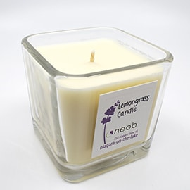 Square Lemongrass Candle