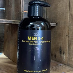 Black Shadow Men 3+1 Wash Sandalwood