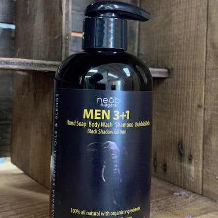 Black Shadow – Men 3+1 Wash Sandalwood