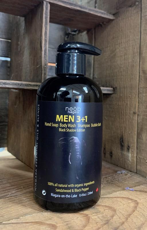 Black Shadow Men 3+1 Wash Sandalwood