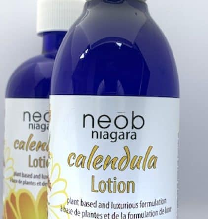 Glorious Calendula Lotion 250ml GLASS BOTTLE