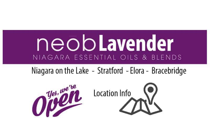 Locate your nearest neob lavender store