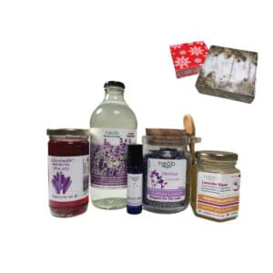 lavender culinary gift set